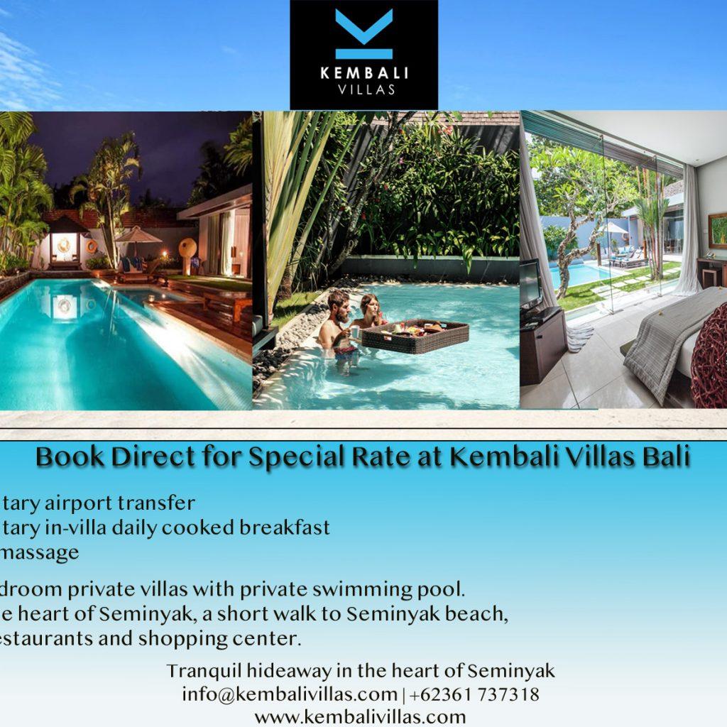 Book Direct And Save Kembali Villas